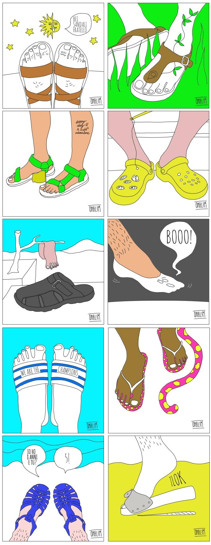 illustrazioni gq